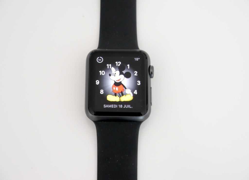 La montre manque encore de cadrans.