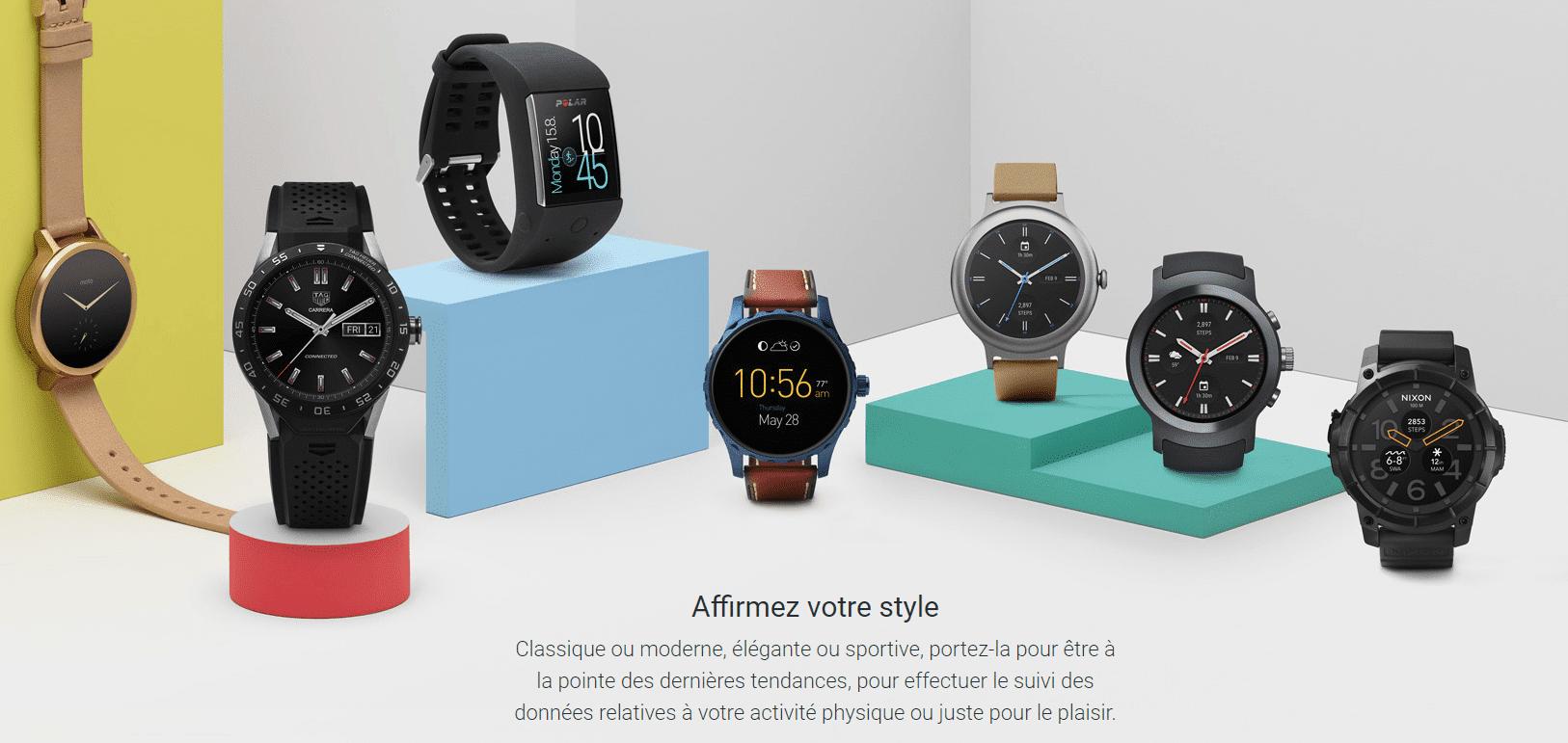 6c2953862eae8 Android Wear : tout savoir sur l'OS des montres connectées