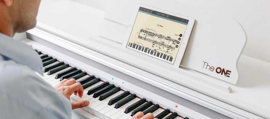 The one piano moderne et connecté