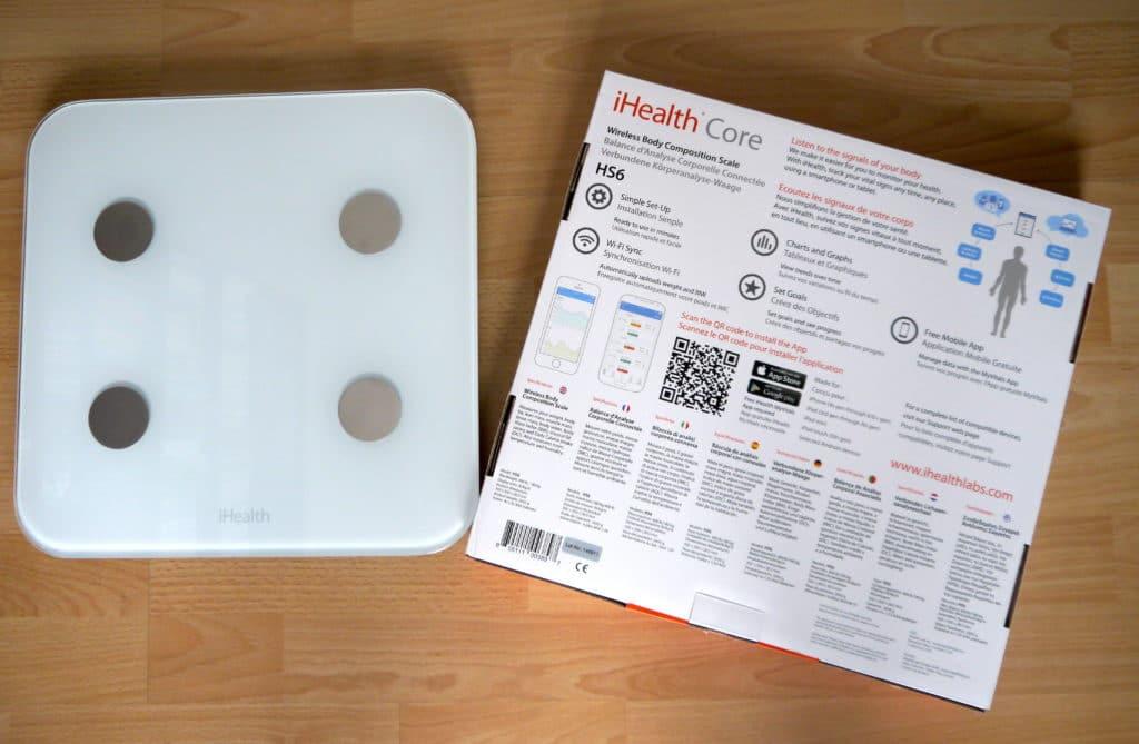 Dos emballage balance iHealth