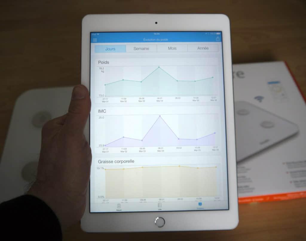 application iHealth iPad