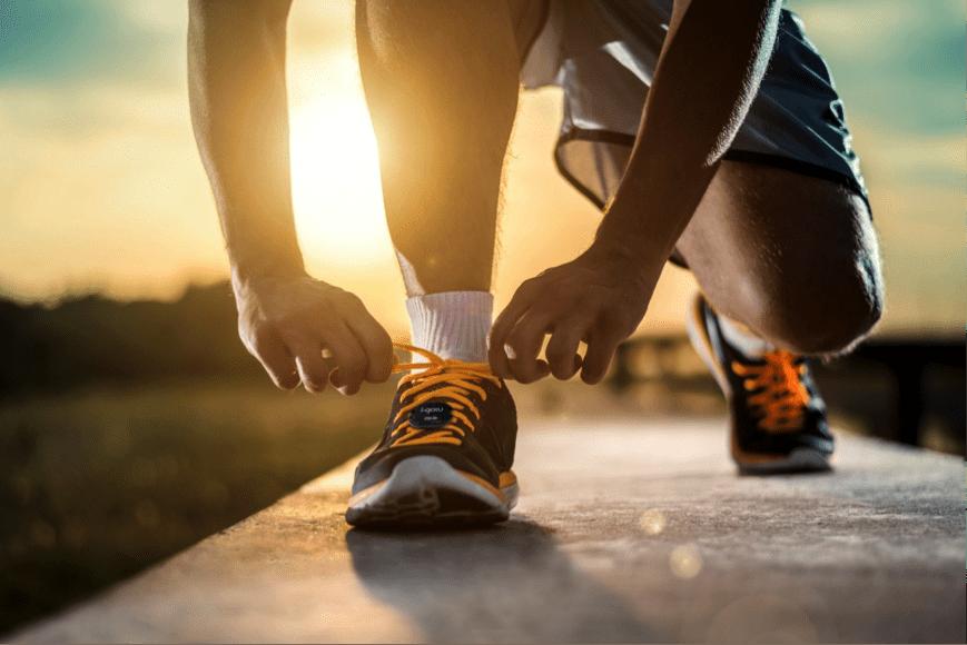 Objet connecté pour la course à pied