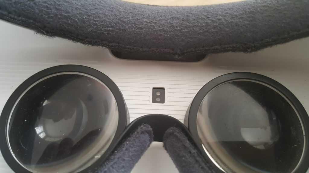 capteur de proximité du Gear VR