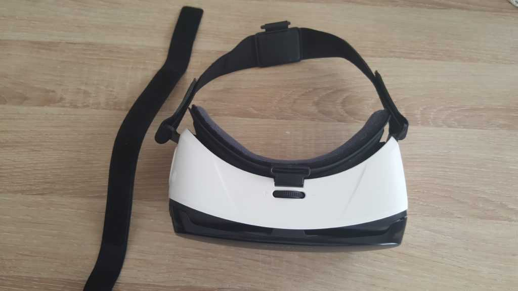 Gear VR vue de haut