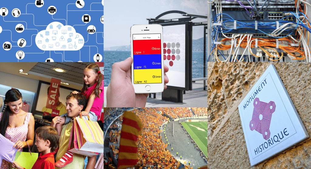 objet connecté lié aux smart cities