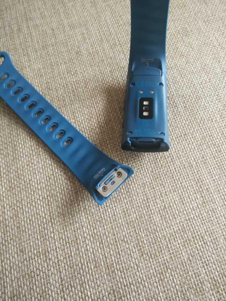 bracelet détachable du Gear Fit 2