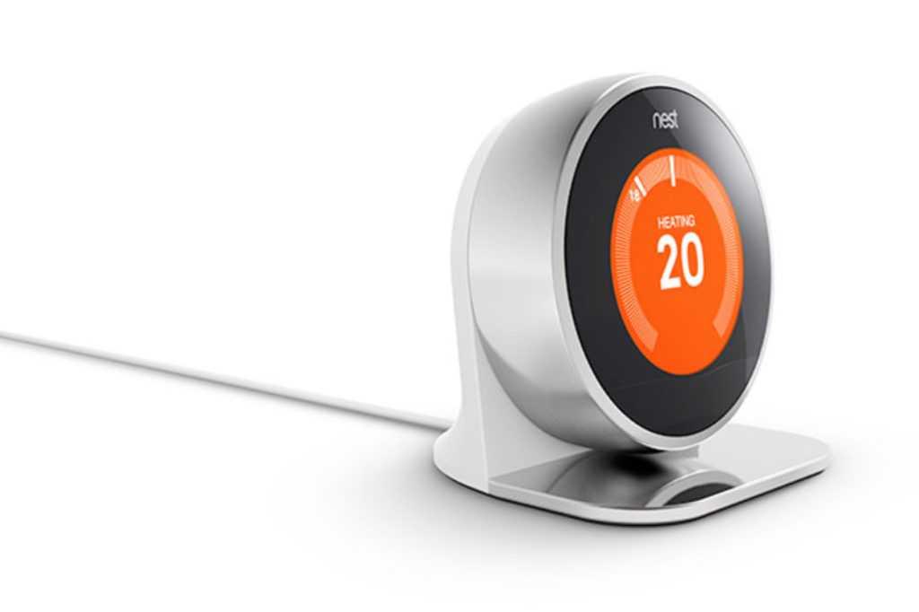 L'écran du thermostat Nest fait toujours sensation