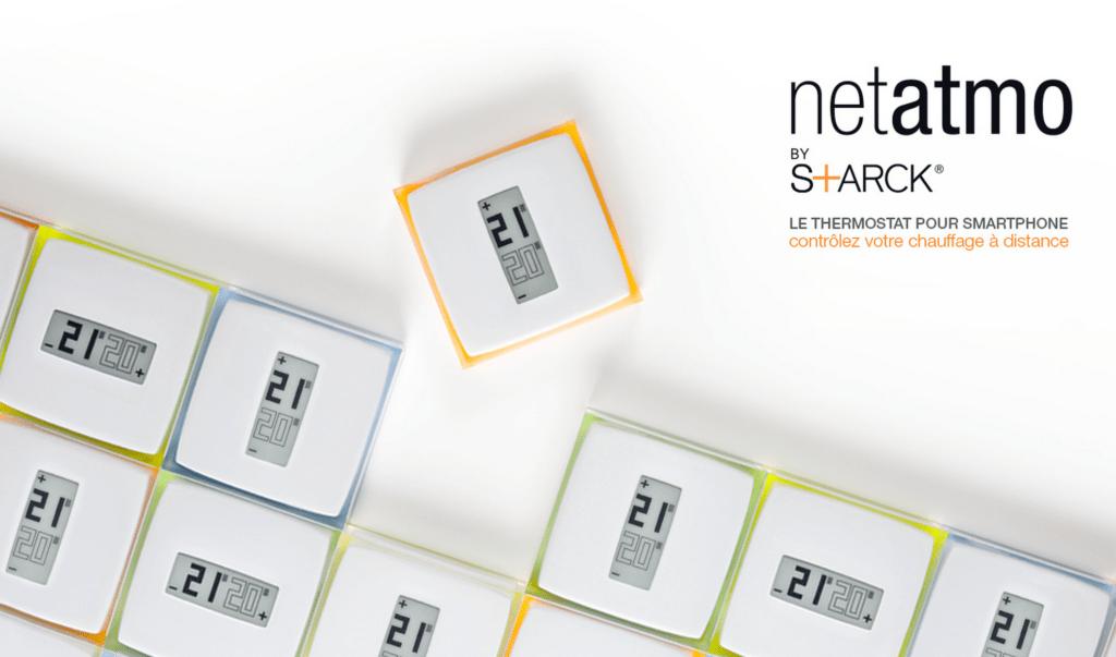 Le thermostat de chez Netatmo a été désigné par Starck