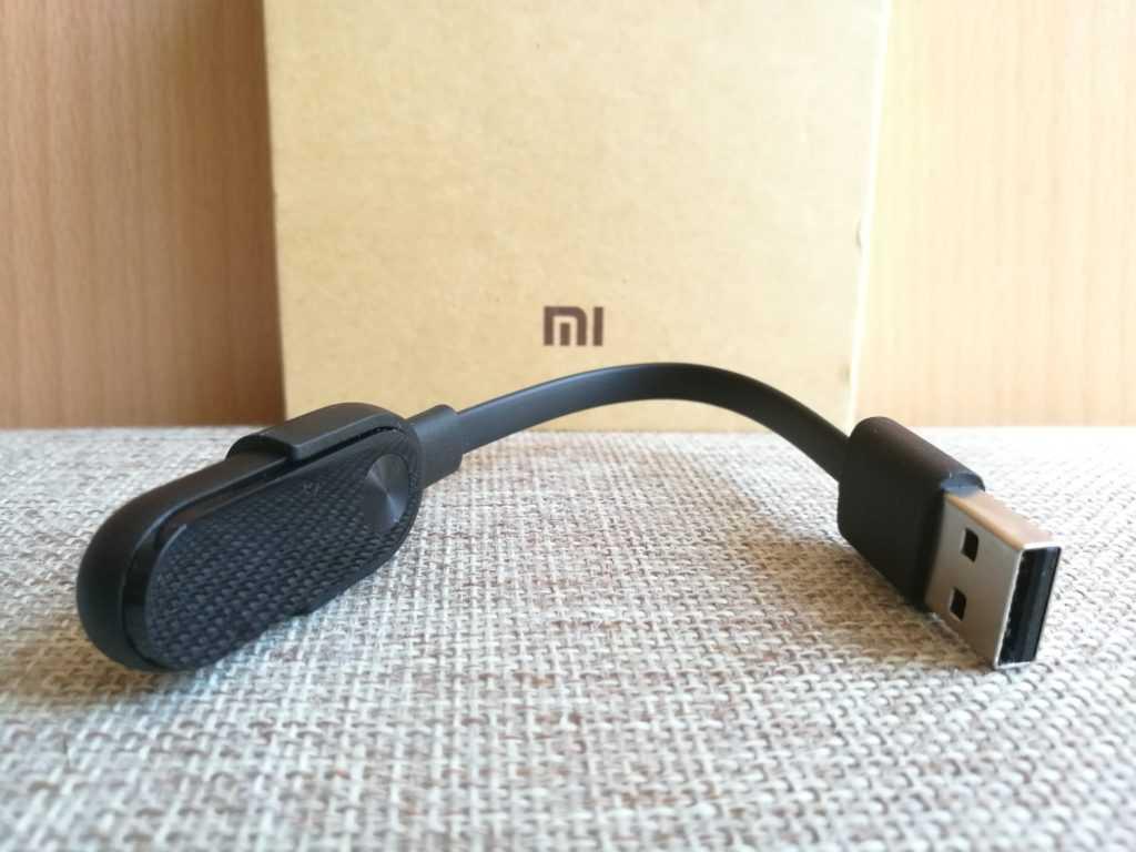 Autonomie et cable de recharge pour le MiBand 2