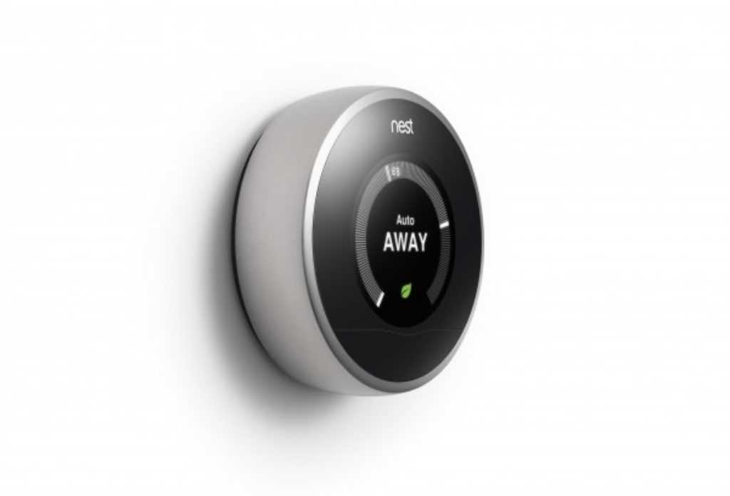 Thermostat Nest en mode absence