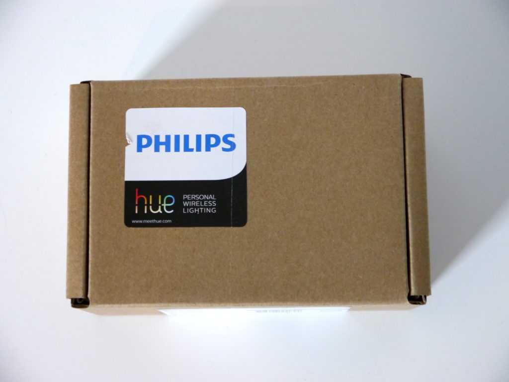 Coffret Philips Hue en carton