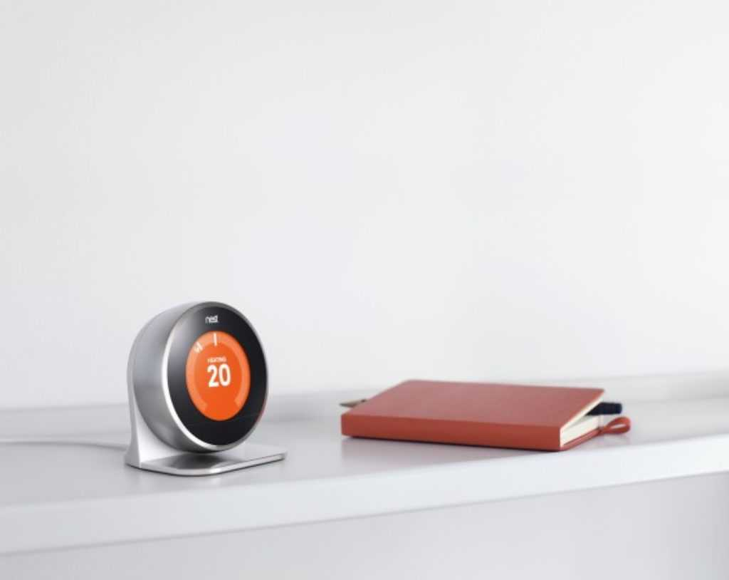 Support pour tenir le thermostat nest