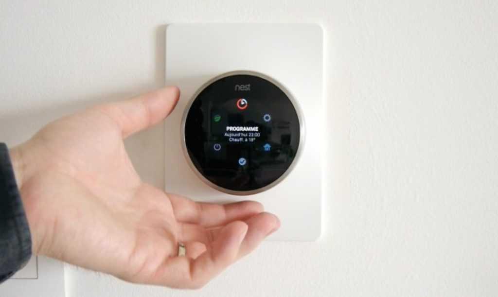 Réglages du thermostat Nest