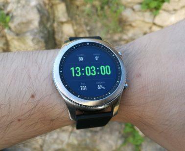 Samsung Gear S3 : notre test & avis, le meilleur modèle du marché ?