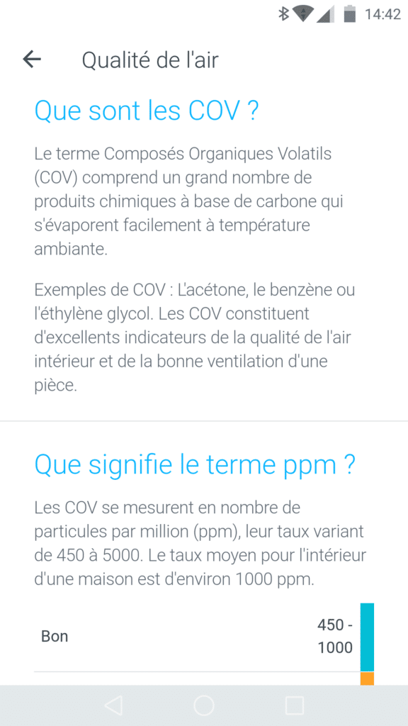 La Withings Home peut calculer la concentration de particules dans l'air, une originalité qui la rend unique.