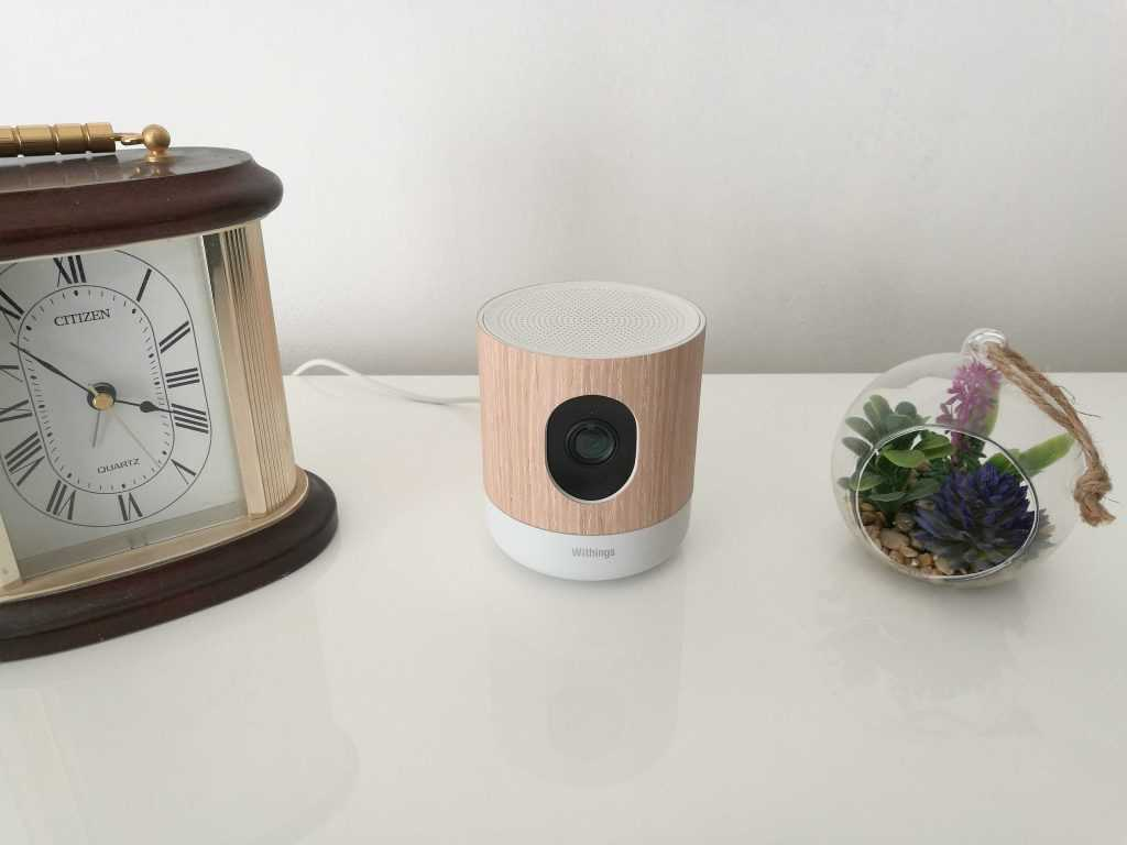 La Withings Home possède un design accrocheur.