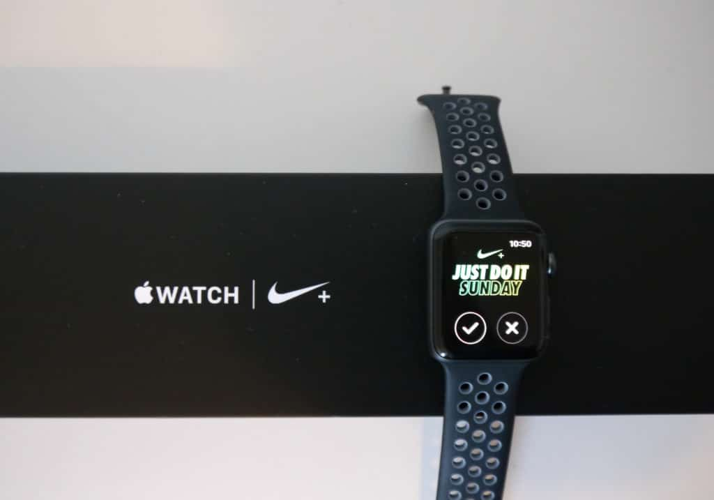 Apple Watch Séries 2 version Nike+
