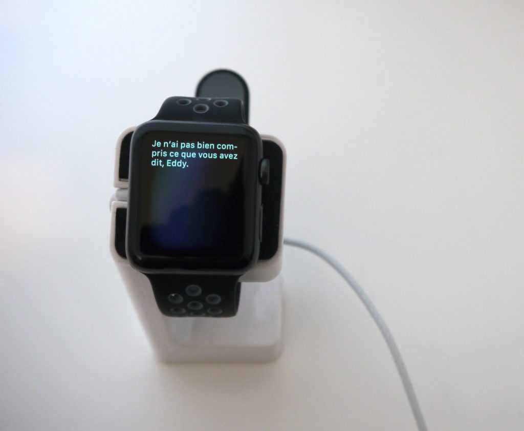 Siri sur Apple Watch Series 2