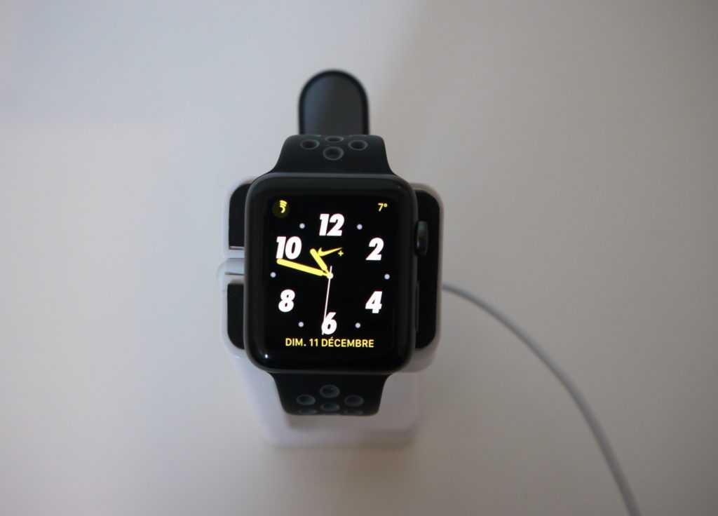 cadran Apple Watch Séries 2 Nike