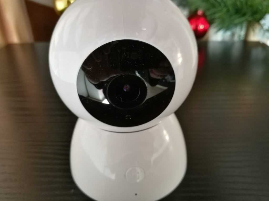 Le capteur possède 10 LED infra-rouge et permet de faire des vidéos en 1080p.
