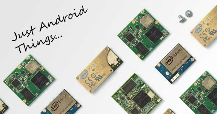 Google lance l'OS Android Things et met à jour Weave — IoT
