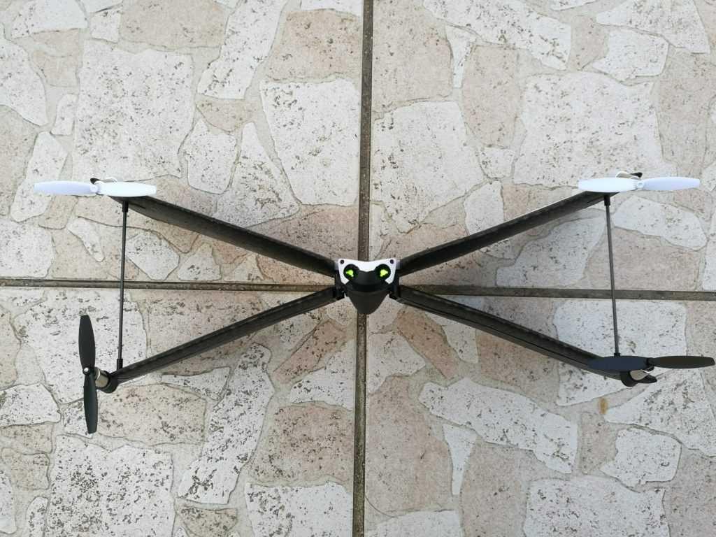 Le Swing est très grand pour un drone de sa catégorie.