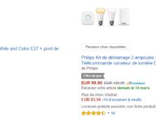 [Bon plan] -30% sur les kits d'ampoules connectées Philips Hue