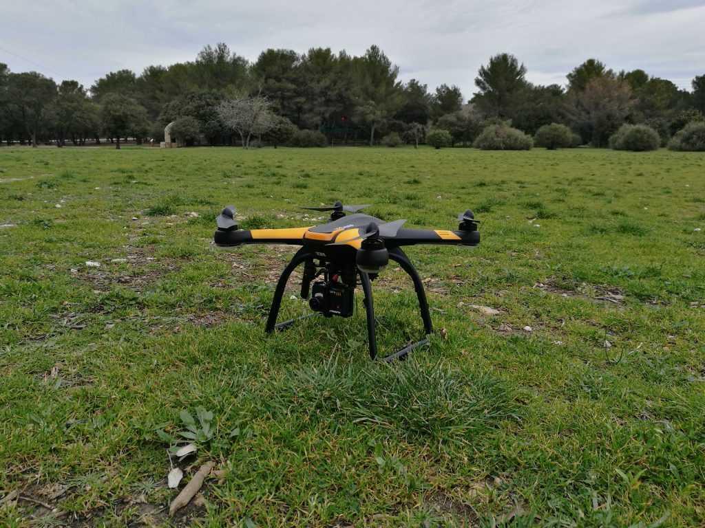 Le Hubsan H109S est un très beau drone, abordable et simple d'emploi.
