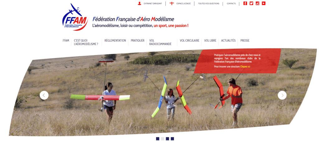 Site officiel FFAM
