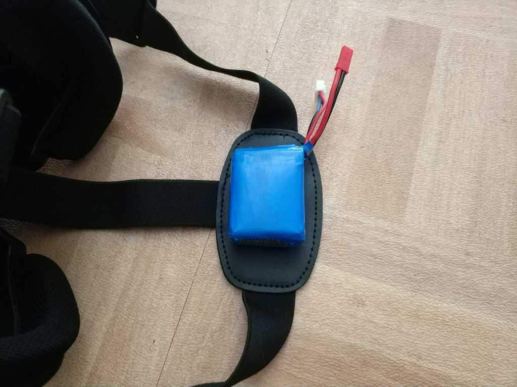 Batterie masque FPV
