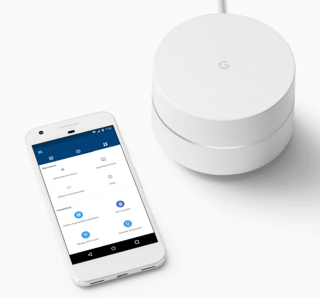 Application routeur Google Wifi