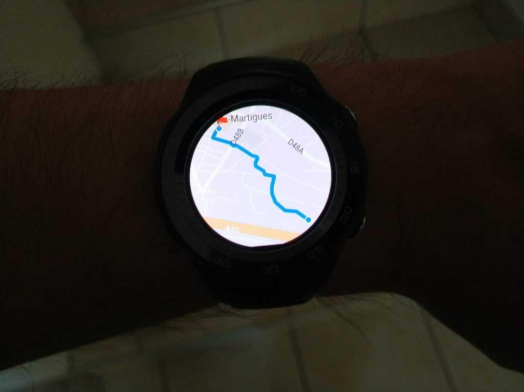 GPS Huawei Watch 2