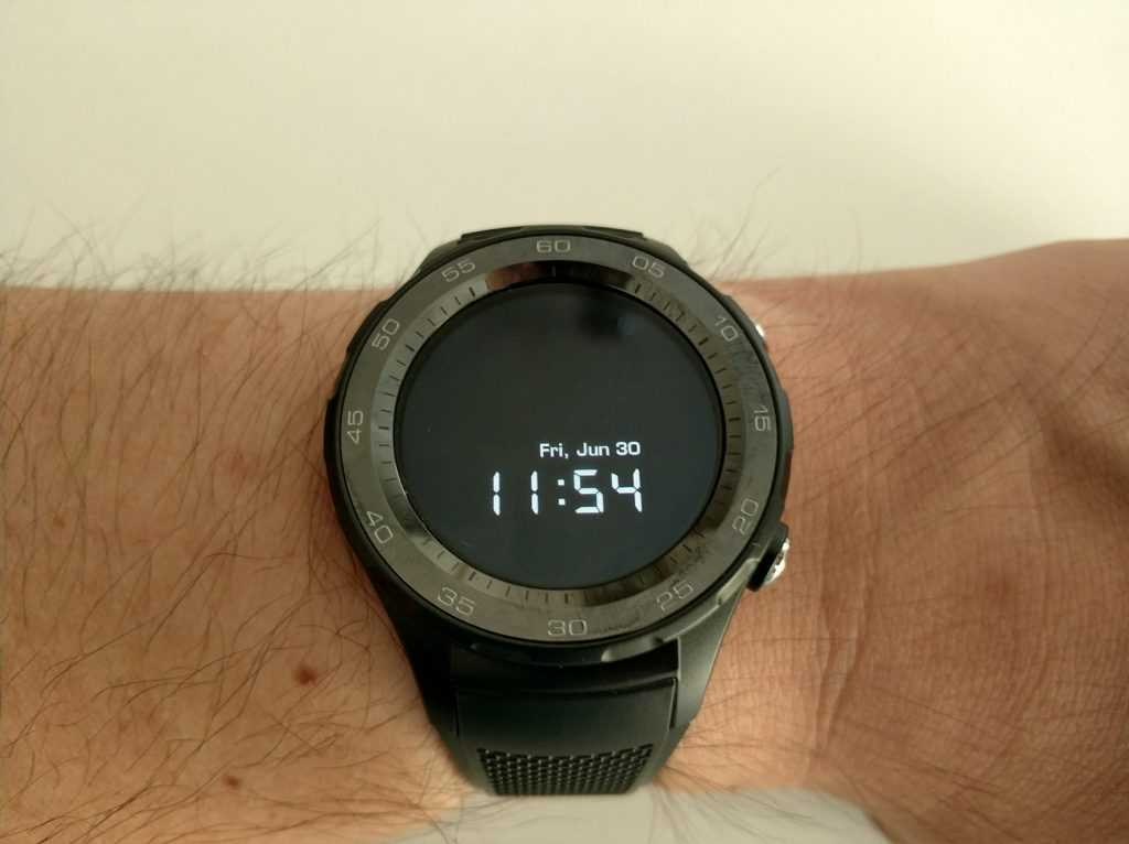 Ecran AMOLED smartwatch