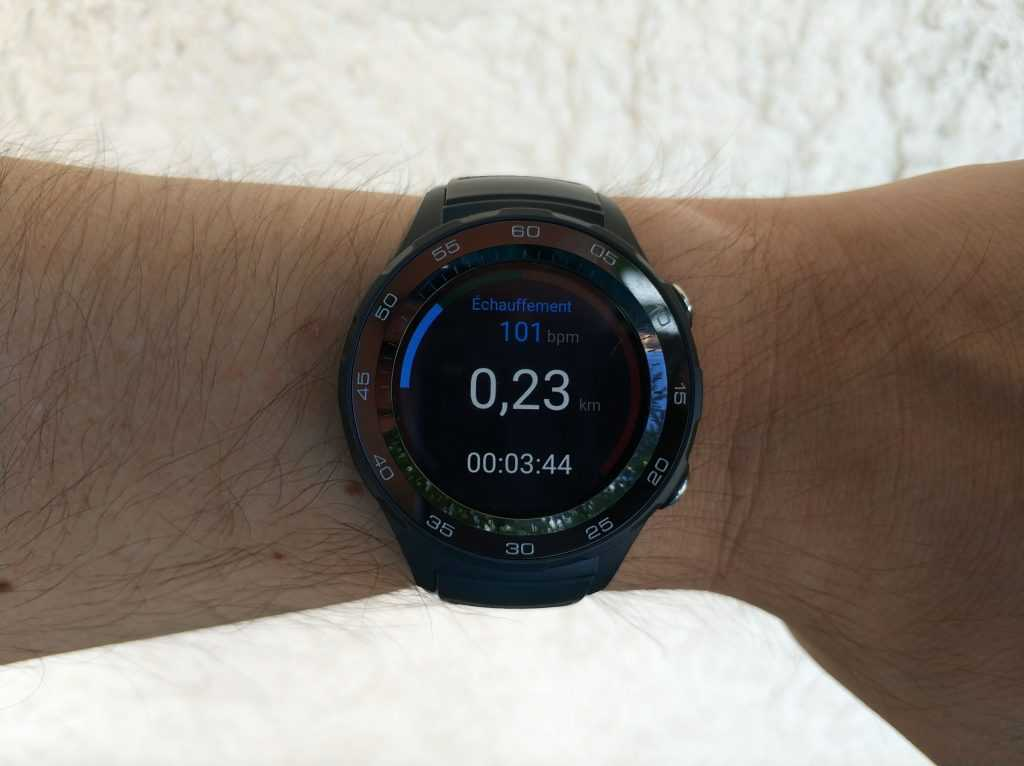 Application sport Huawei Watch 2
