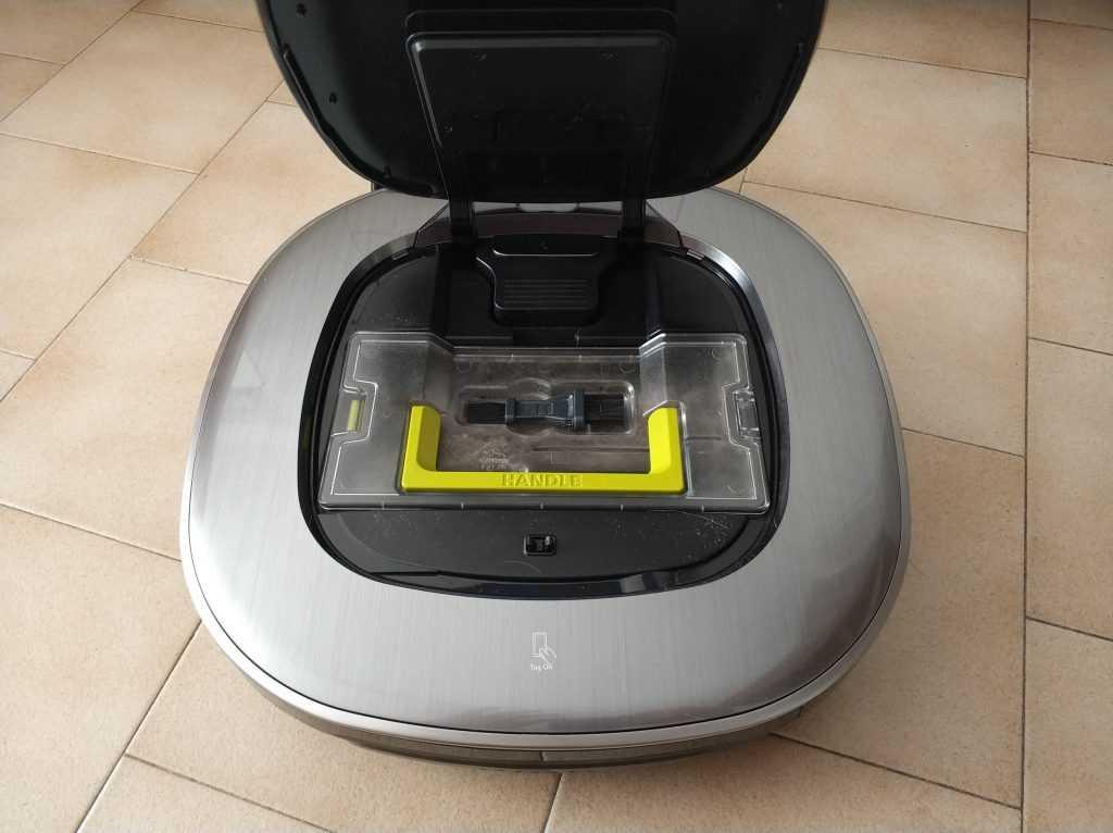 LG hom-Bot bac récupération