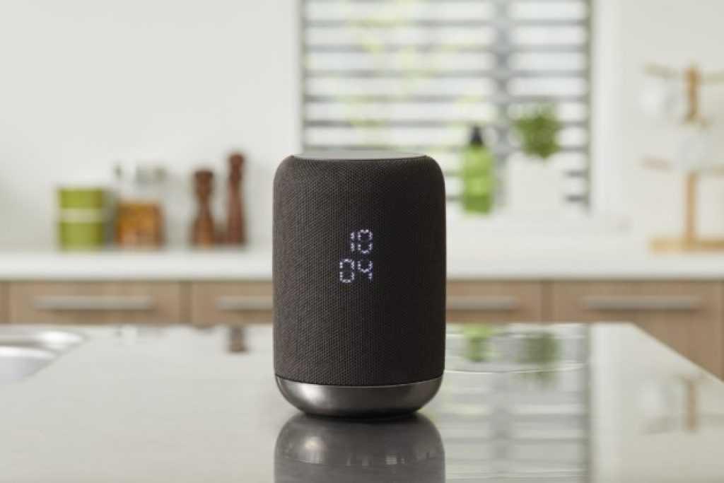 Enceinte Sony avec Google Assistant