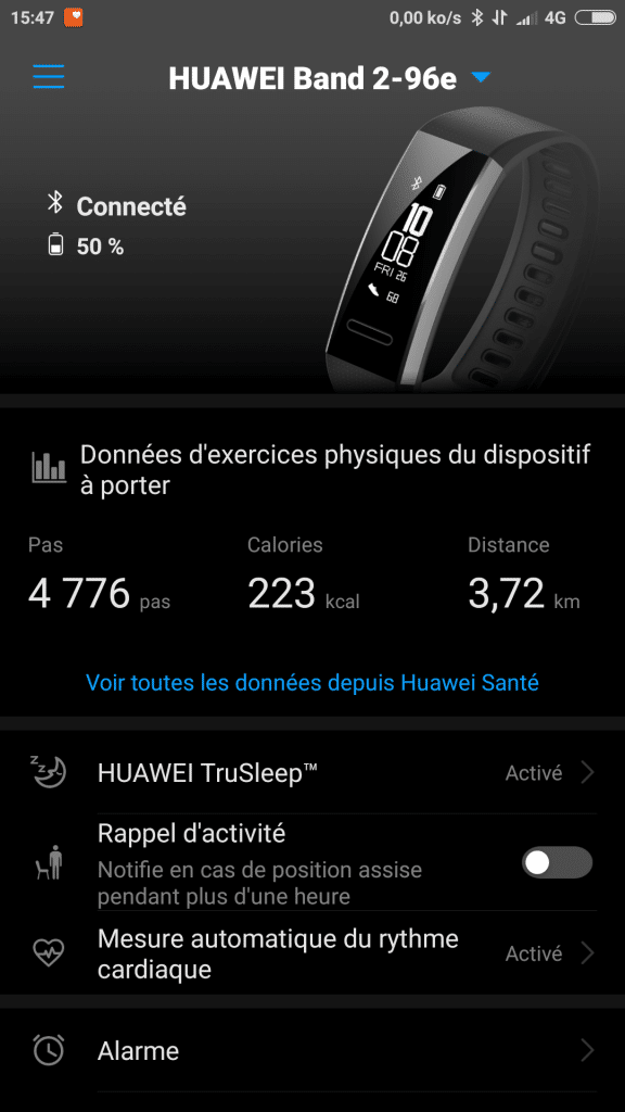 Application Huawei Wear