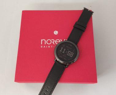 Noreve Griffe 1 : prise en main du bracelet en cuir pour montre connectée