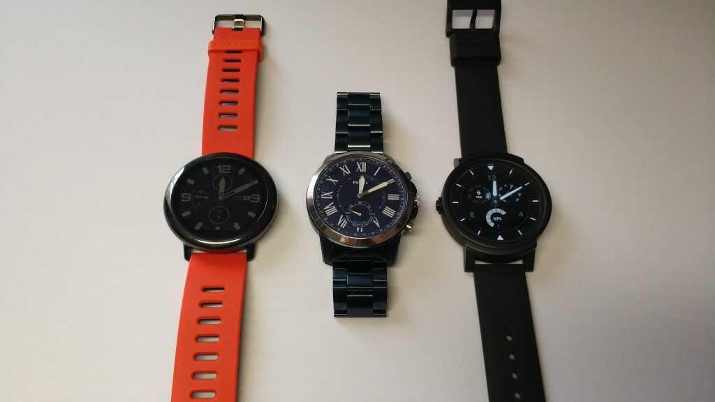 Comparatif montres connectées Fossil Q Grant