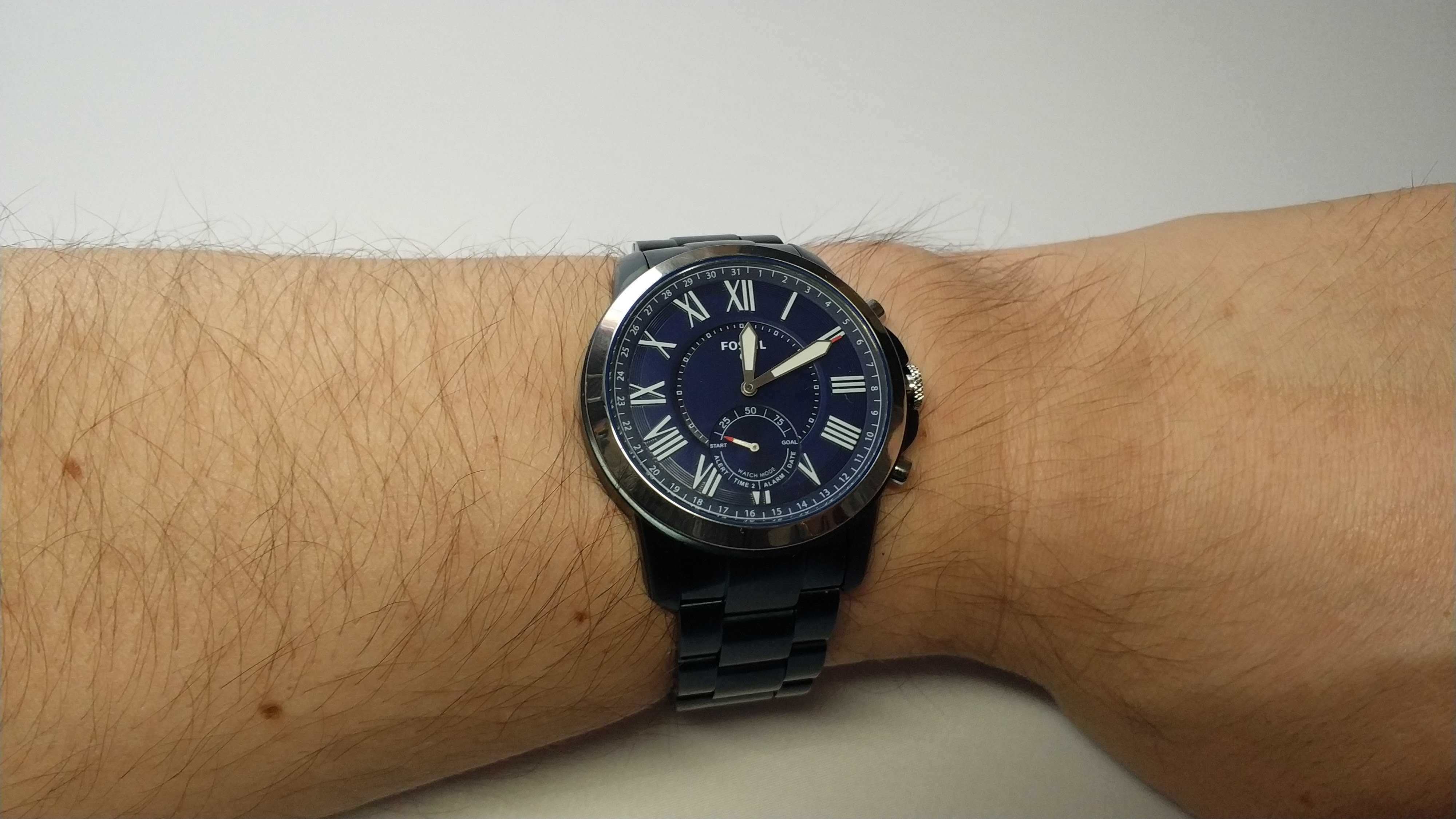 Test complet montre hybride Fossil Q Grant