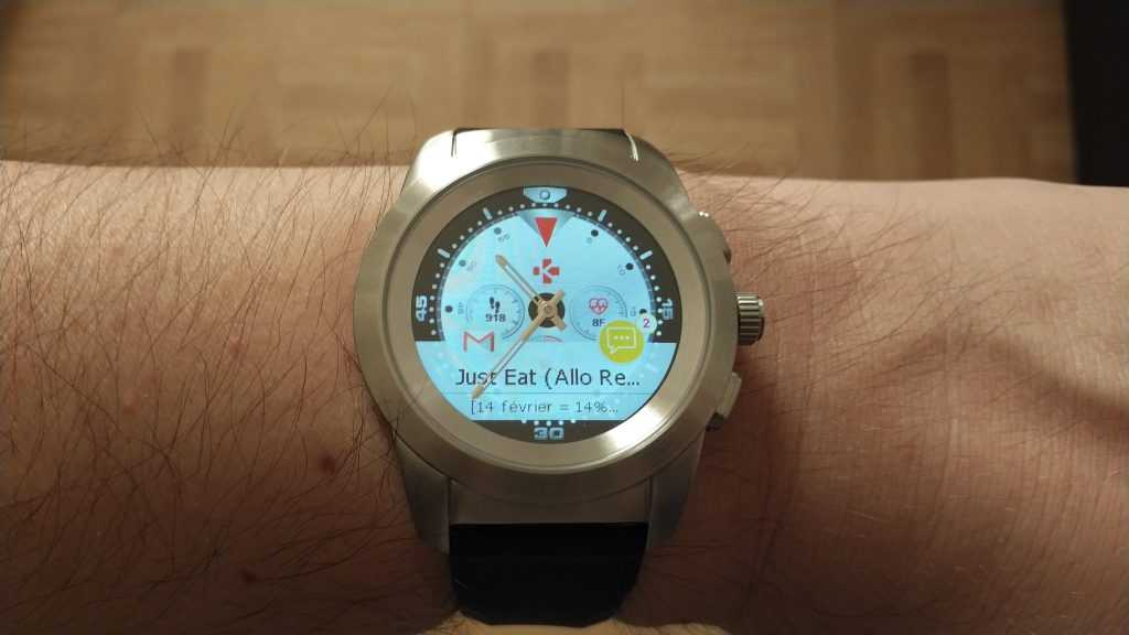 Notification montre ZeTime