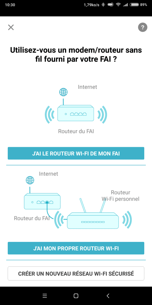 Configuration BOX 2 Wifi clonage