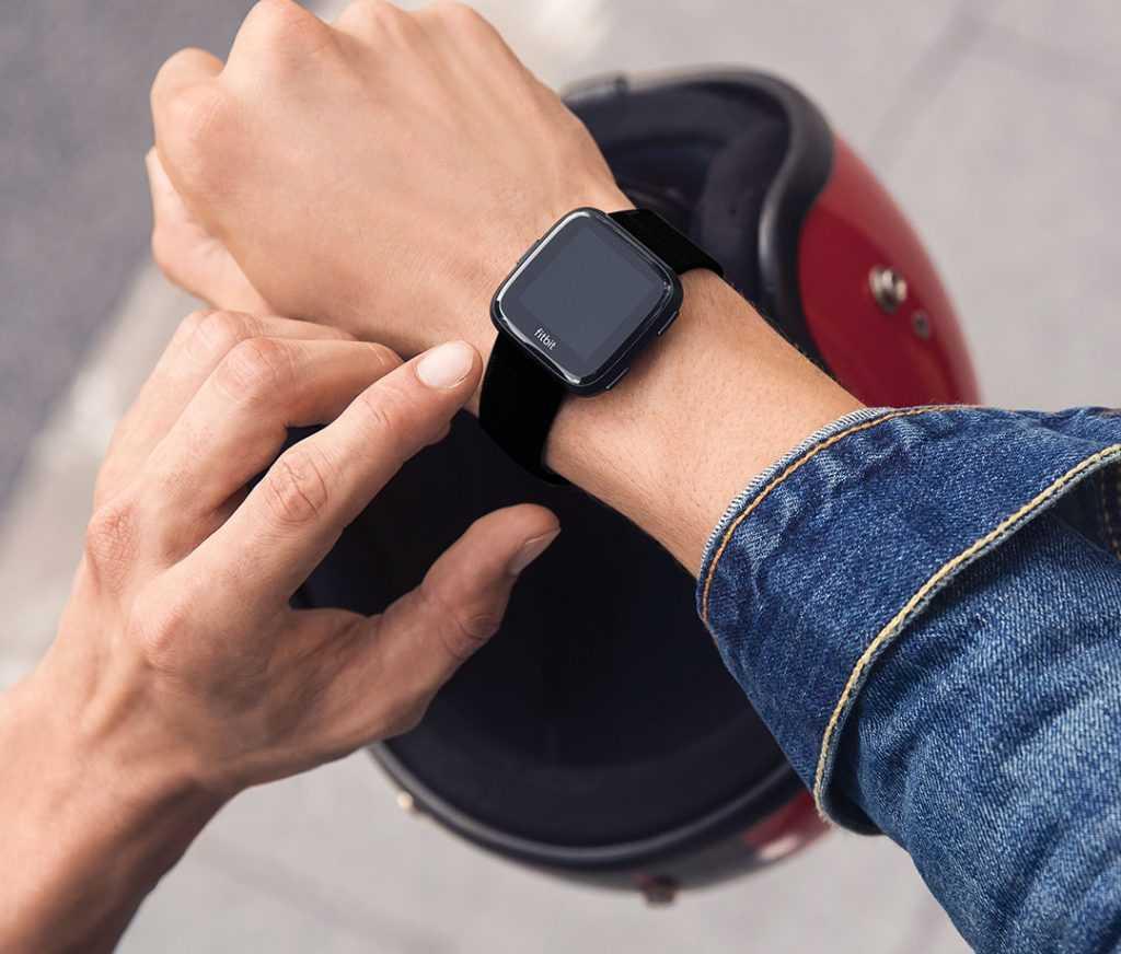 Utilisation Fitbit Versa