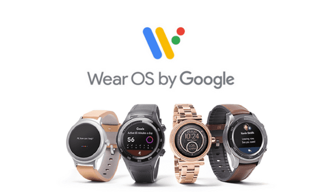 Wear OS nouvelle version