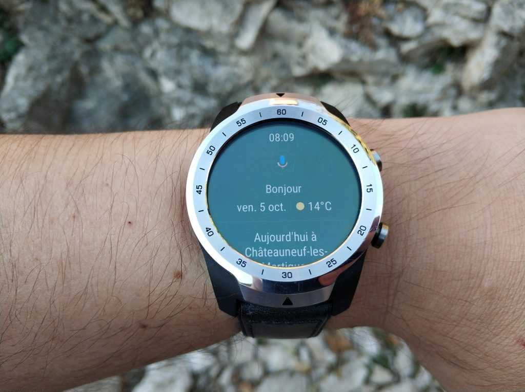 Wear OS écran Google Assistant