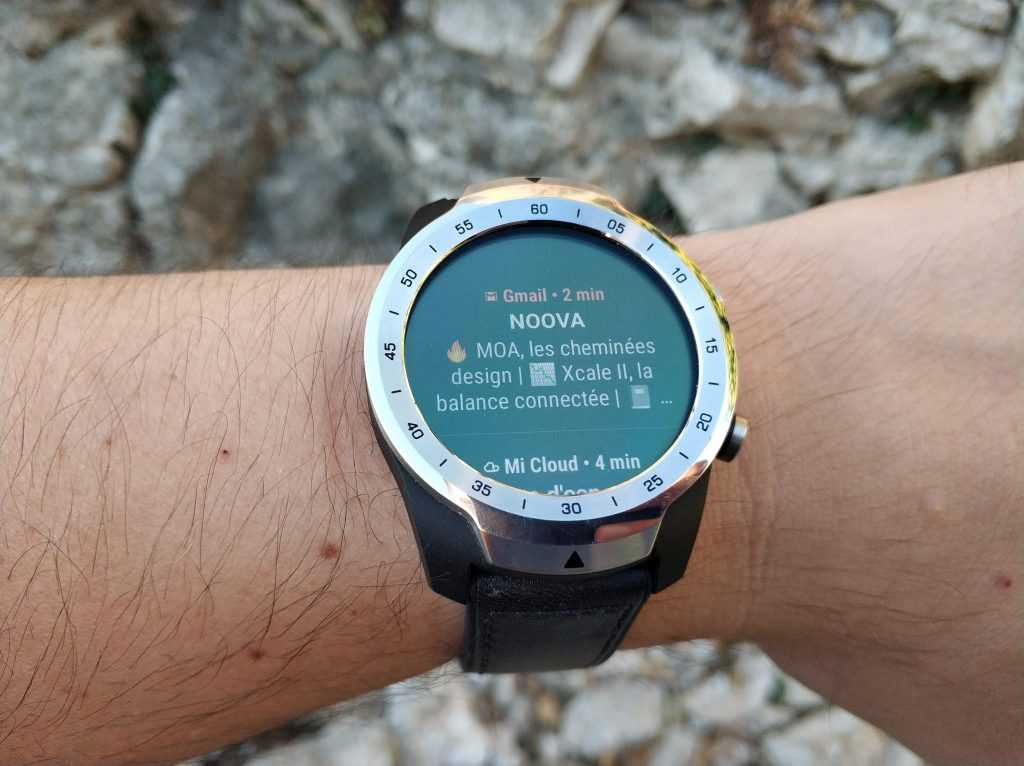 Wear OS notifications colorées