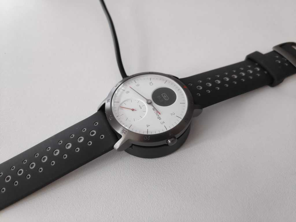 Autonomie Withings Steel HR Sport