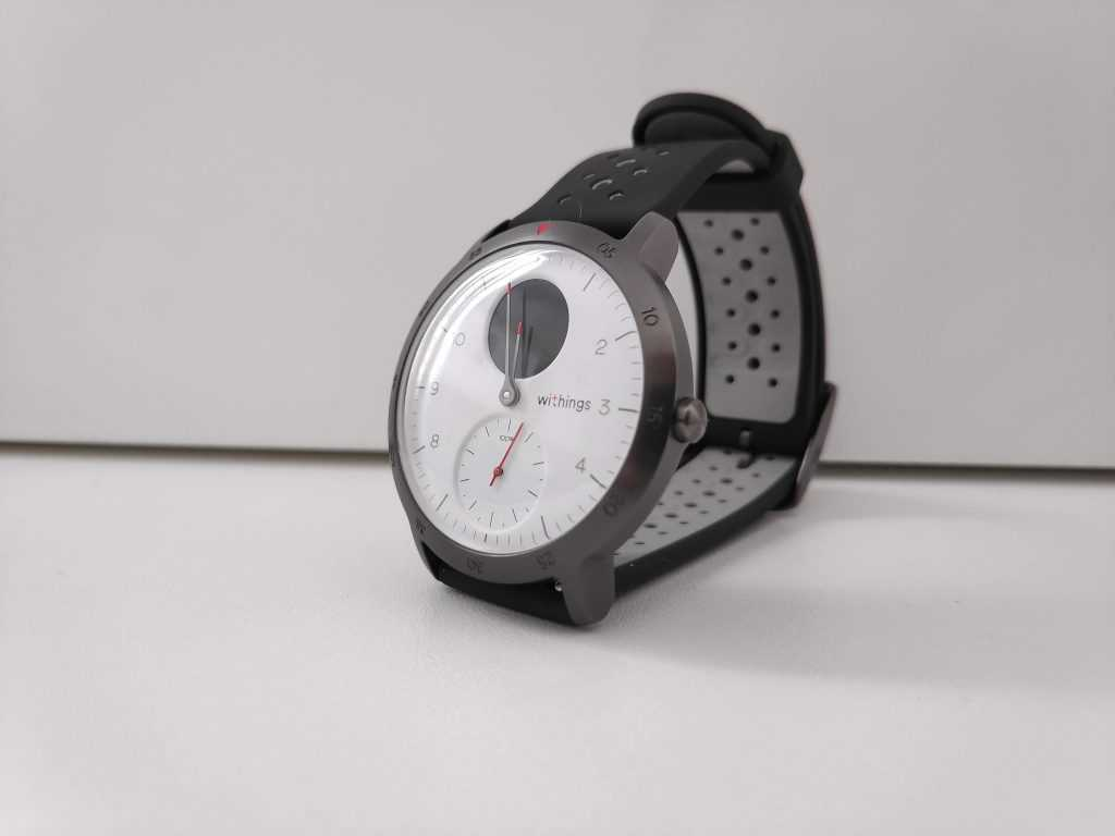 Design Steel HR Sport Withings