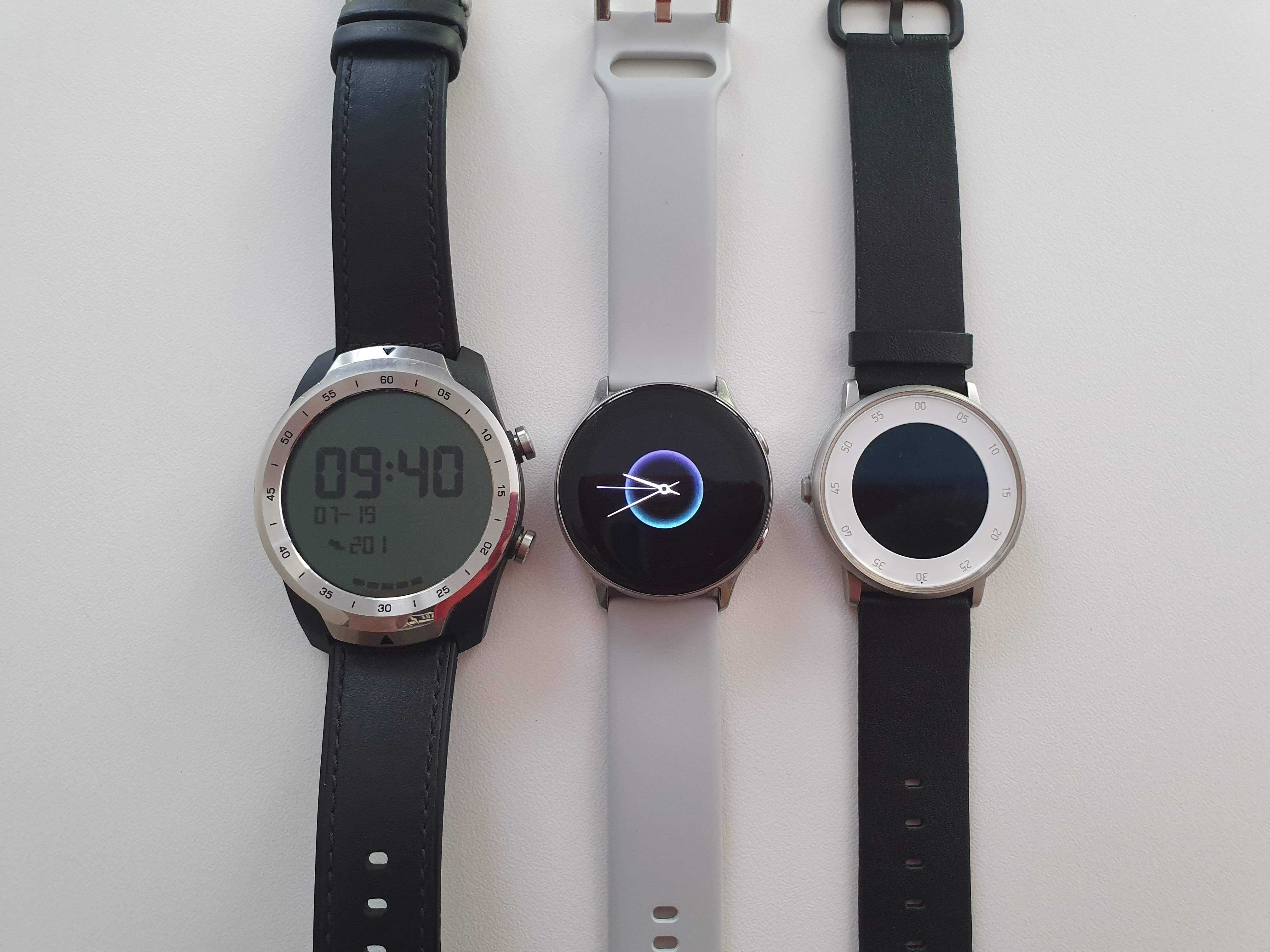 Comparatif smartwatches