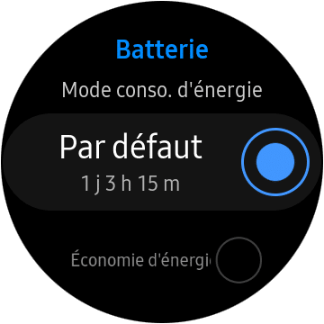 Autonomie Watch Active